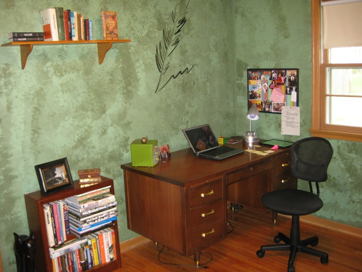 setting up a writing room